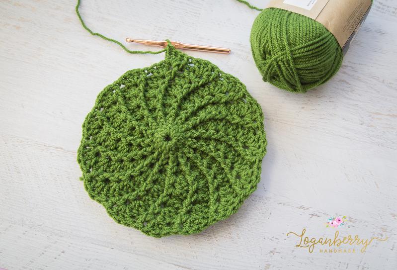 369a011dc7e Crochet Spiral Beanie – Free Crochet Pattern » Loganberry Handmade