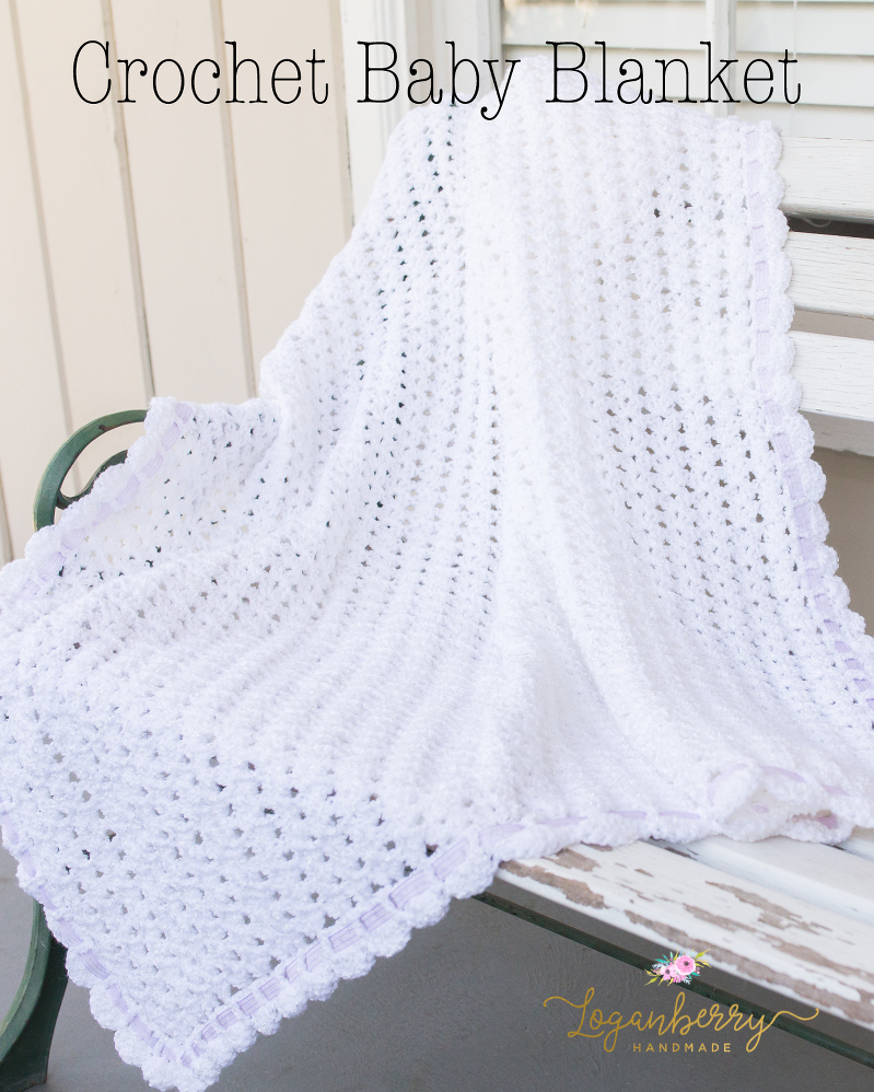 Sweet As Snow Crochet Baby Blanket Tutorial Free Crochet Pattern
