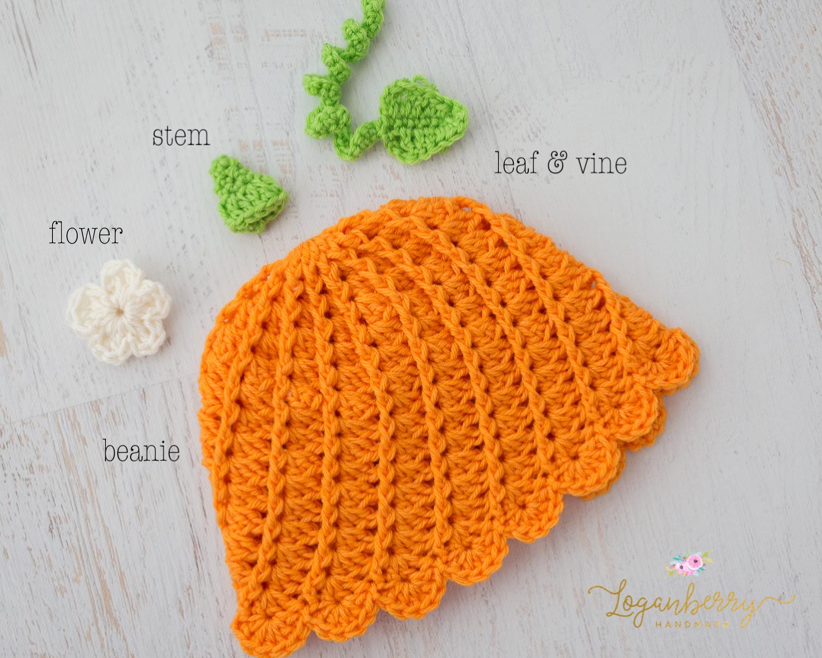 Little Pumpkin Beanie Free Crochet Pattern Loganberry Handmade