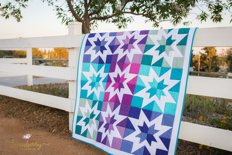 Custom Quilts Handmade With Love Loganberry Handmade