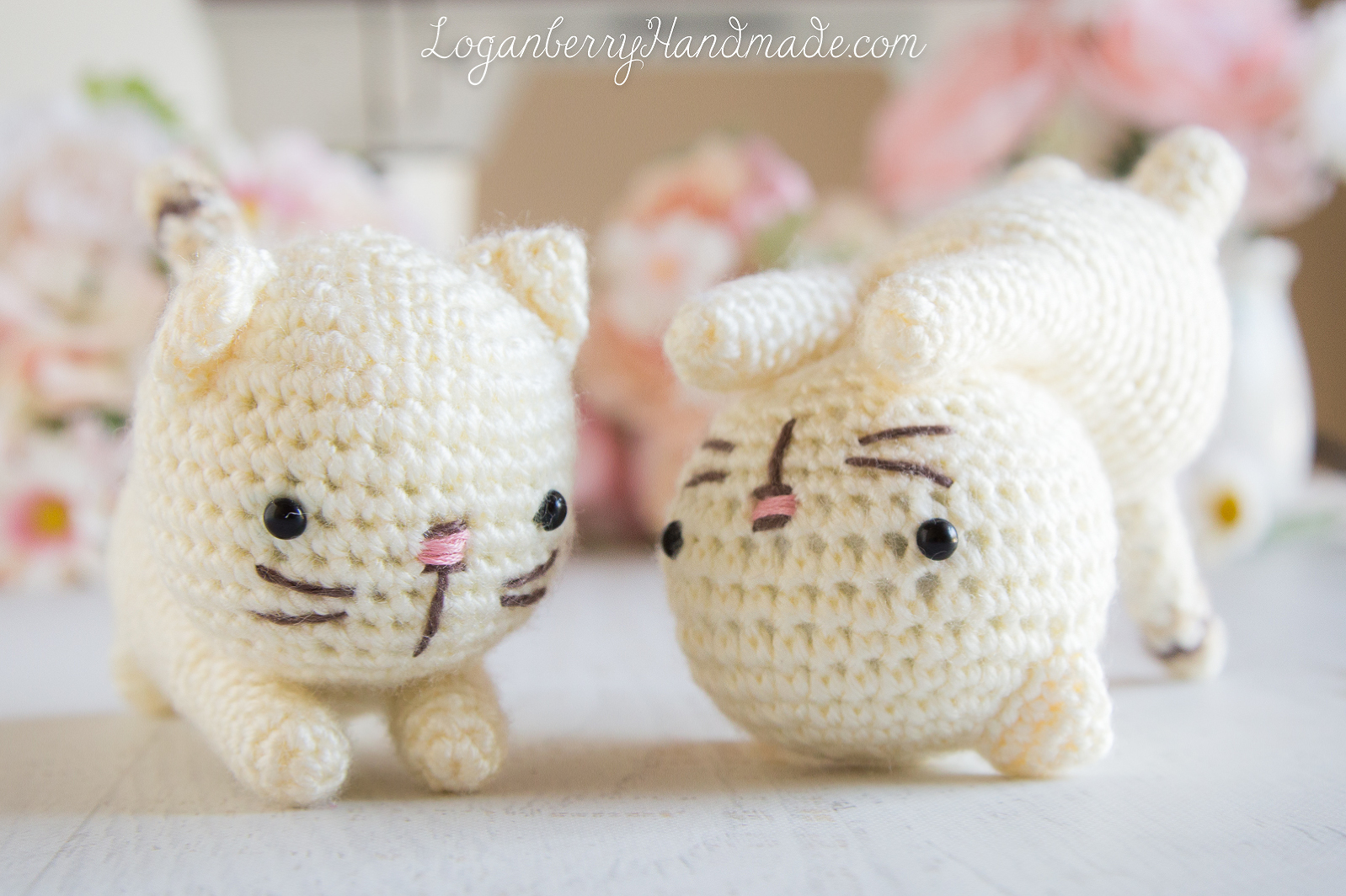 Cute Kitty Cat amigurumi pattern - Amigurumipatterns.net | 1064x1598